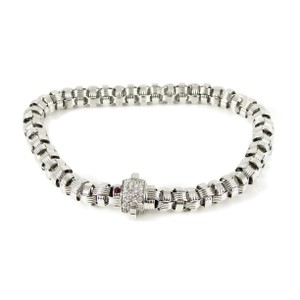 Roberto Coin Roberto Coin 18K Diamond Mini Appassionata Barrel Bracelet