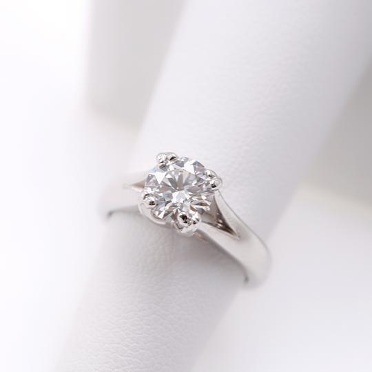Hearts on Fire G Round Brilliant Diamond 1.31 Cts Vs2 Platinum Engagement Ring Image 7