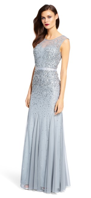 Preload https://img-static.tradesy.com/item/26593462/adrianna-papell-blue-mist-beaded-gown-with-illusion-neck-long-formal-dress-size-14-l-0-0-650-650.jpg