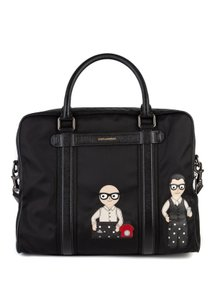 Dolce & Gabbana Black Travel Bag