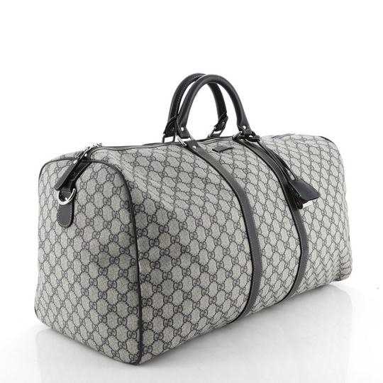 Gucci Duffle Canvas blue Travel Bag Image 1