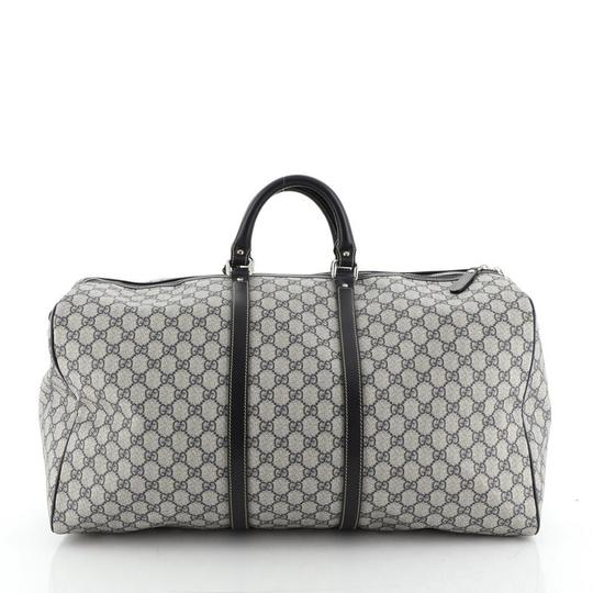 Gucci Duffle Canvas blue Travel Bag Image 2
