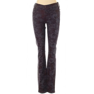 7 For All Mankind Stretchy Floral Skinny Jeans