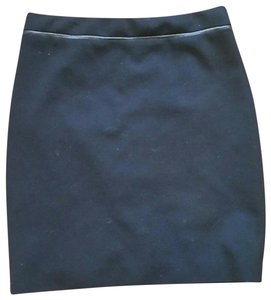 Elie Tahari Leather Piping Pencil Exclusive Nordstrom Skirt Black