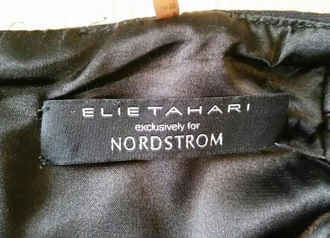 Elie Tahari Leather Piping Pencil Exclusive Nordstrom Skirt Black Image 7