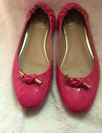 Lilly Pulitzer Hot Pink Flats Image 1