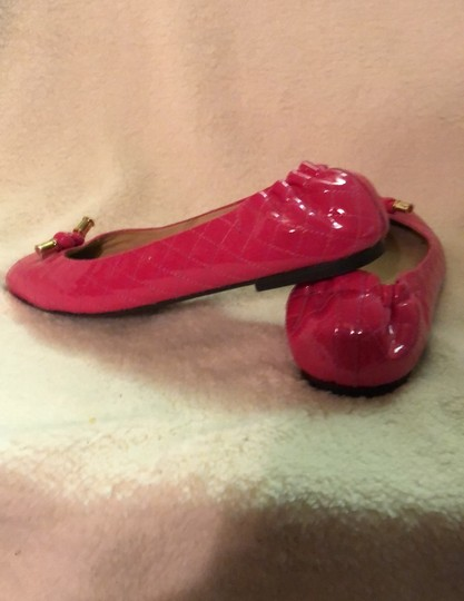 Lilly Pulitzer Hot Pink Flats Image 5