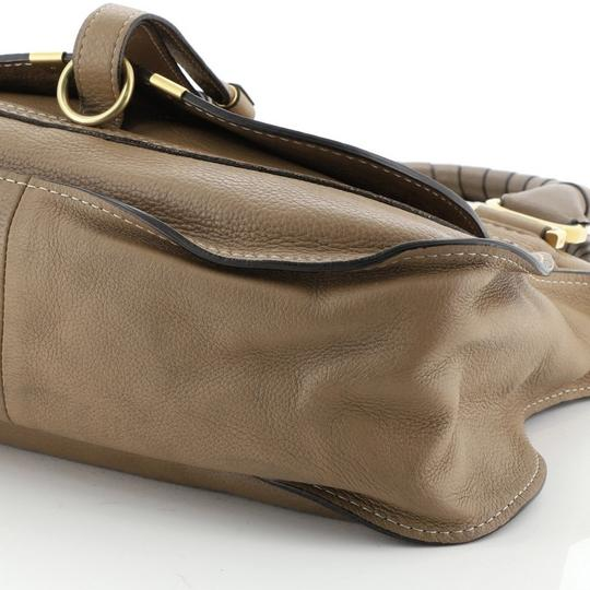 Chloé Marcie Leather Satchel in brown Image 6