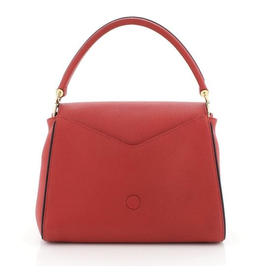 Louis Vuitton Double V Leather Tote in red Image 2