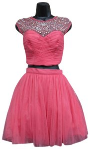 Josh and Jazz Prom Homecoming Short Two Piece Dress