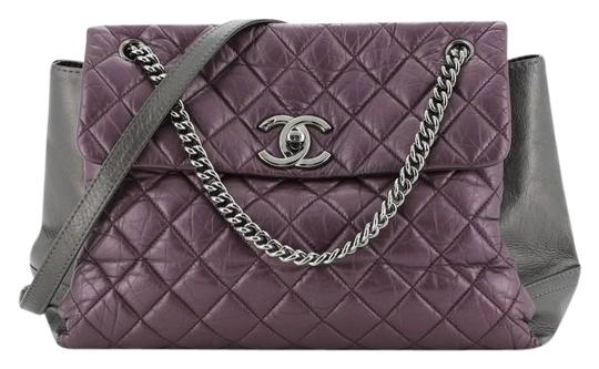 Preload https://img-static.tradesy.com/item/26593657/chanel-classic-flap-lady-pearly-aged-quilted-calfskin-medium-gray-metallic-purple-leather-shoulder-b-0-1-540-540.jpg