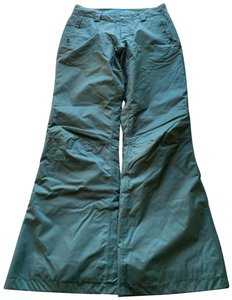 The North Face Wide Leg Pants green