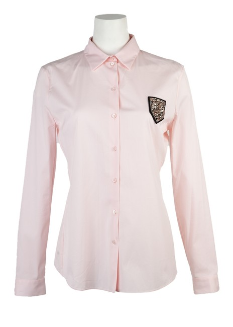 Preload https://img-static.tradesy.com/item/26593669/dior-pink-womens-button-down-top-size-8-m-0-0-650-650.jpg