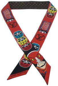 Louis Vuitton Bandeau BB Kabuki Neckerchief Bandanna