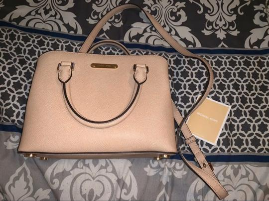 Michael Kors Satchel in Blush Image 1