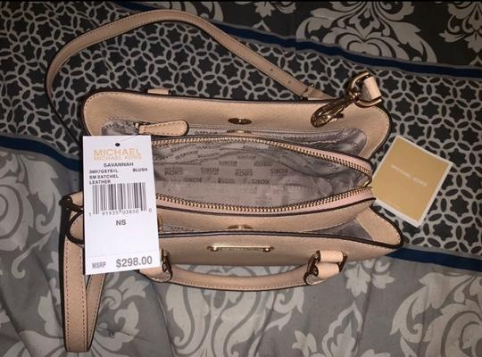 Michael Kors Satchel in Blush Image 2
