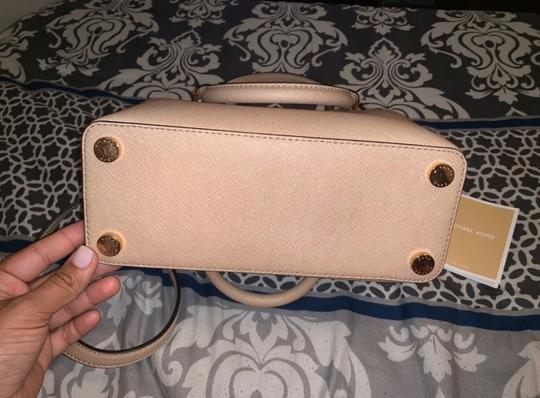 Michael Kors Satchel in Blush Image 3