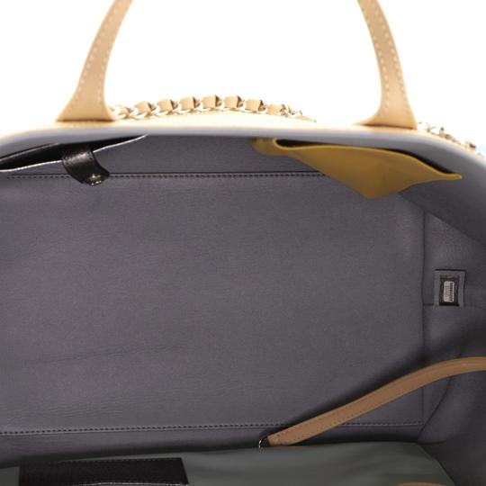 Chanel Sopping Leather Tote in Neutral Image 4