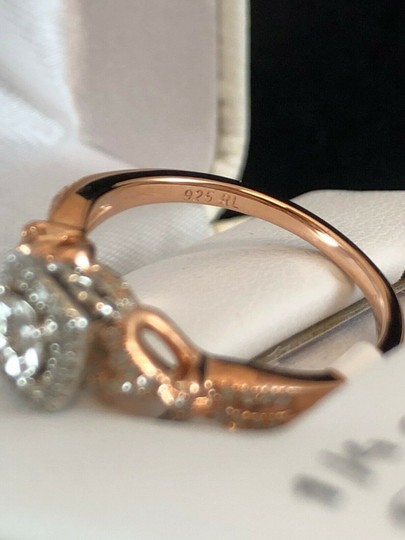love forever diamond rose gold ring Love Forever 14k Rose Gold Over Silver 1/4 Ct T.W. Diamond Ring Size 7 Image 10