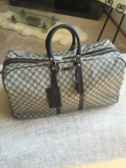 Gucci Beige with black accents Travel Bag Image 1