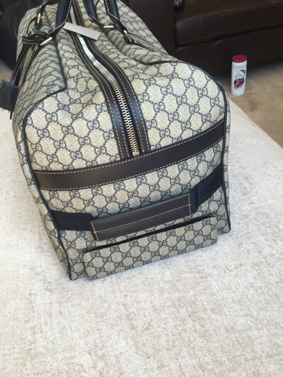 Gucci Beige with black accents Travel Bag Image 2