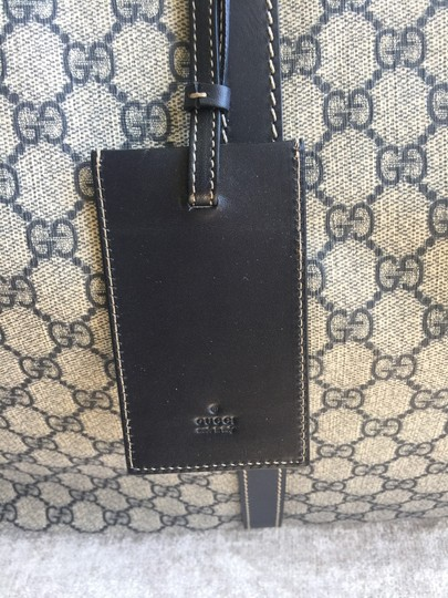 Gucci Beige with black accents Travel Bag Image 3
