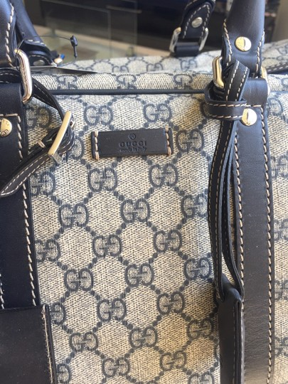 Gucci Beige with black accents Travel Bag Image 4