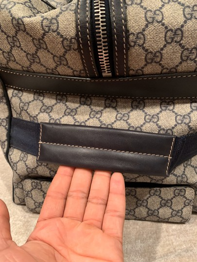 Gucci Beige with black accents Travel Bag Image 6
