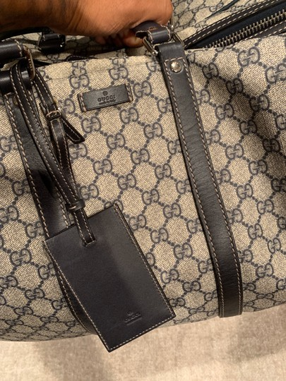 Gucci Beige with black accents Travel Bag Image 7