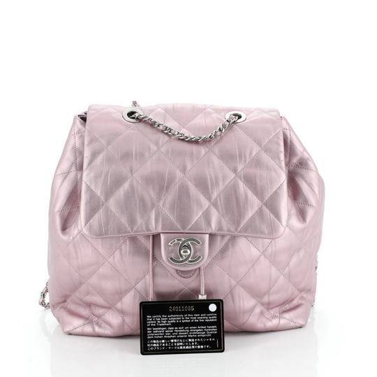 Chanel Leather Backpack Image 1