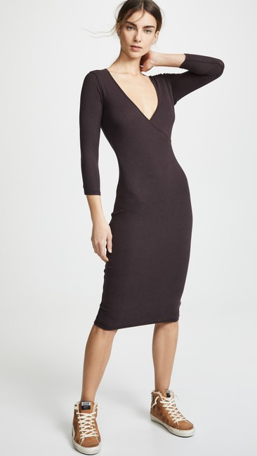 James Perse short dress fig on Tradesy Image 1