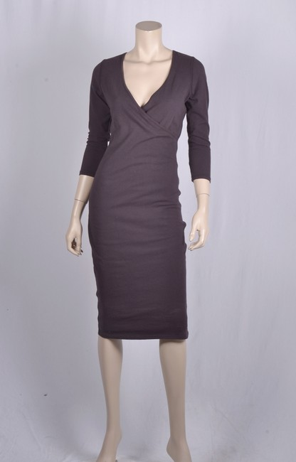 James Perse short dress fig on Tradesy Image 5