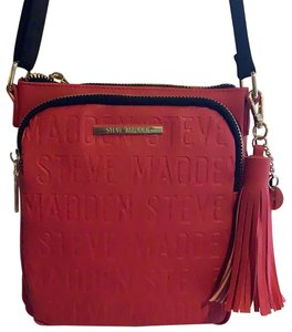 Steve Madden Red Messenger Bag