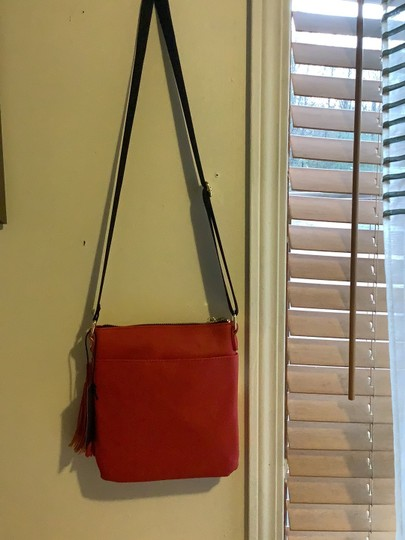Steve Madden Red Messenger Bag Image 2