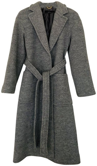 Preload https://img-static.tradesy.com/item/26593788/jcrew-grey-italian-boiled-wool-wrap-tie-coat-size-2-xs-0-2-650-650.jpg