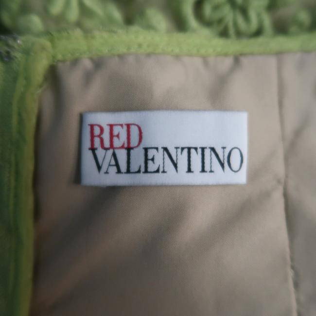 RED Valentino Lace Embroidered Fit Flair Bustier Dress Image 8