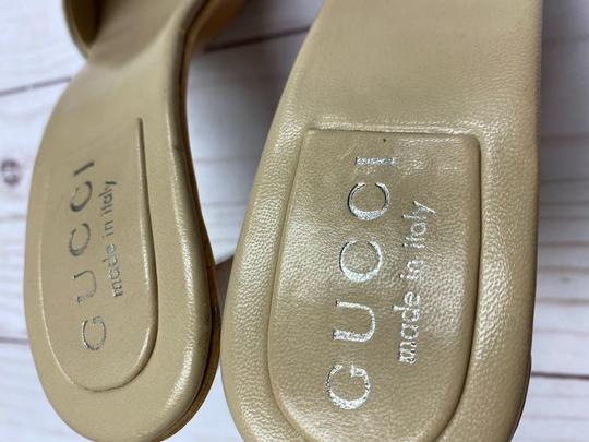 Gucci TAN Sandals Image 6