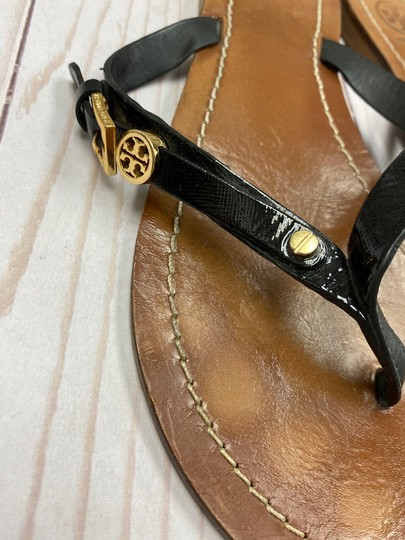 Tory Burch Thong Black Sandals Image 2