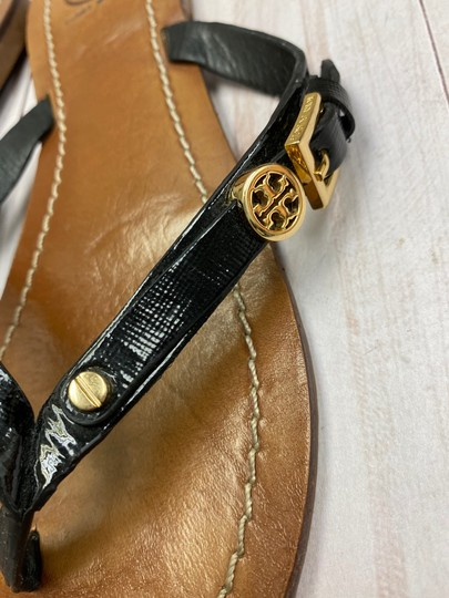 Tory Burch Thong Black Sandals Image 3