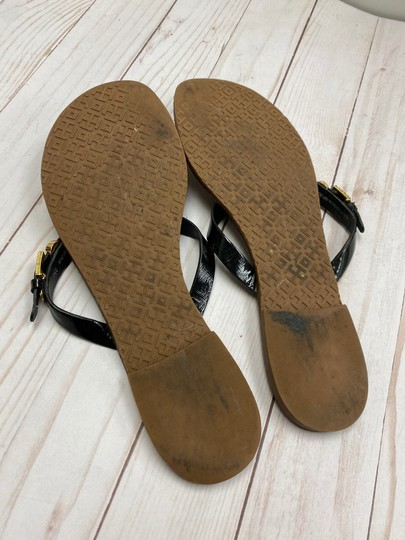 Tory Burch Thong Black Sandals Image 4