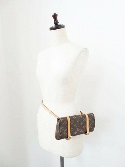 Louis Vuitton Luxury Canvas Leather Shoulder Cross Body Bag Image 1