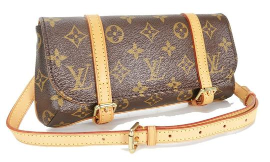 Louis Vuitton Luxury Canvas Leather Shoulder Cross Body Bag Image 2