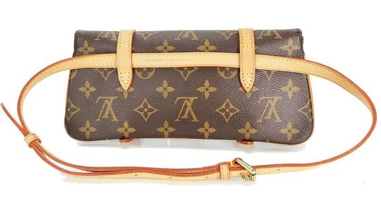 Louis Vuitton Luxury Canvas Leather Shoulder Cross Body Bag Image 3