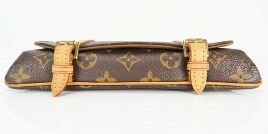 Louis Vuitton Luxury Canvas Leather Shoulder Cross Body Bag Image 5