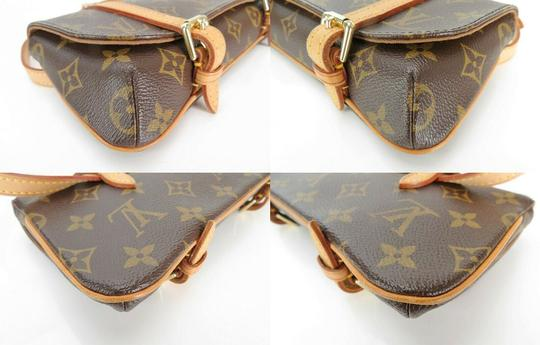 Louis Vuitton Luxury Canvas Leather Shoulder Cross Body Bag Image 6