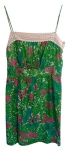 Milly of New York by Michelle Smith Collection short dress blue, pink, green, white on Tradesy