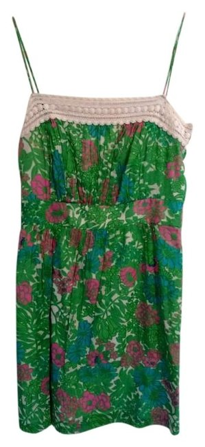 Preload https://img-static.tradesy.com/item/265944/blue-pink-green-white-an-above-knee-short-casual-dress-size-6-s-0-0-650-650.jpg