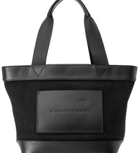 Alexander Wang 9jawto002 Vintage Leather Tote in Black