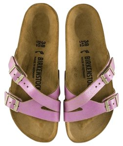 Pink Birkenstock Sandals Narrow (AA, N) Up to 90% off at Tradesy