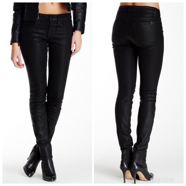Item - Black Coated Skinny Jeans Size 4 (S, 27)